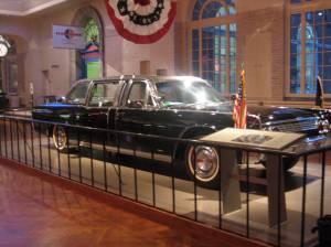 Car where JFK was shot