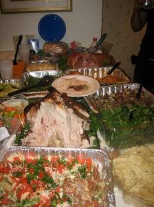 Amazing food spread