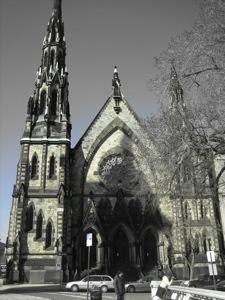 Cool old church