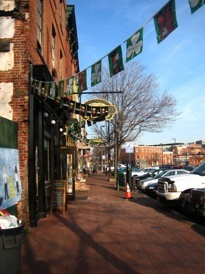 Irish bars in Fell's Point