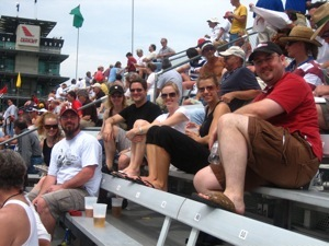 Spam Fam at the Indy Motor Speedway