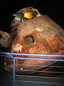 One of the Apollo spacecrafts