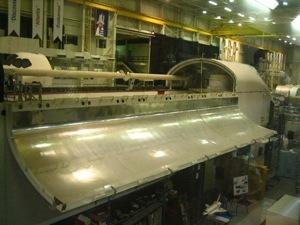 Shuttle training facility