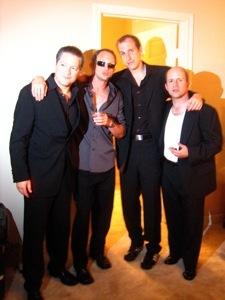 Gangsters - Robert, Matt, Tony and Jeff