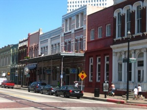 The Strand in Galveston