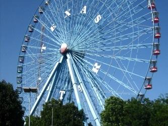 Ferris wheel at the Fairgrounds