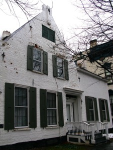 An old house in the Stockade district