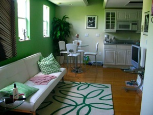 Our cute South Beach apartment