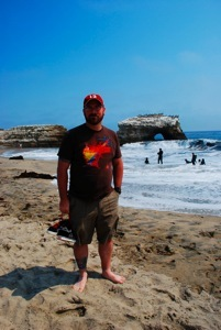 Ryan at Natural Bridges
