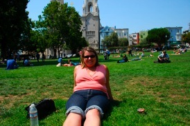 Mary in Washington Square Park