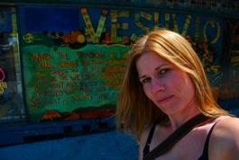 Me outside Vesuvio in North Beach