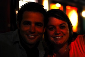 David and Mary at the Duke
