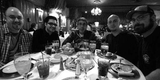 Dinner at Marios