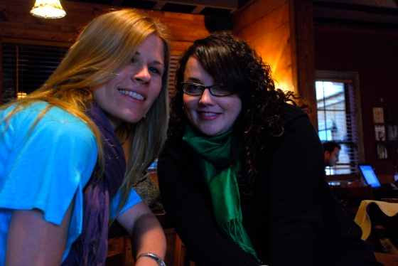 With Meg at Austin Java