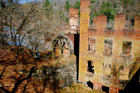 Textile mill ruins at Sweetwater Creek Park