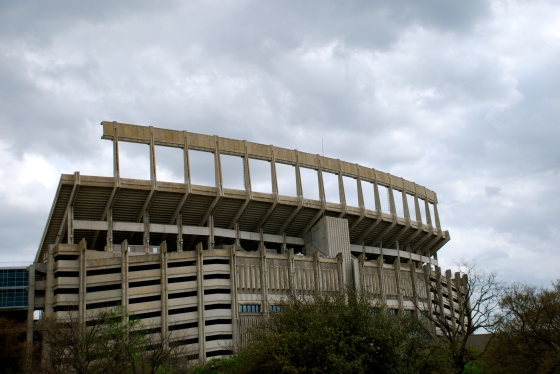 The stadium at UT
