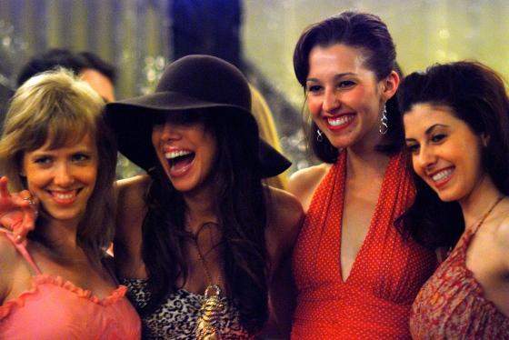 Callie, Lyn, Sarah and Alexa