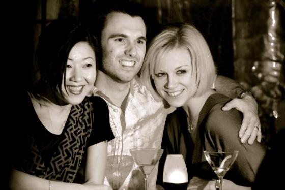 Annie, Graham and Cara