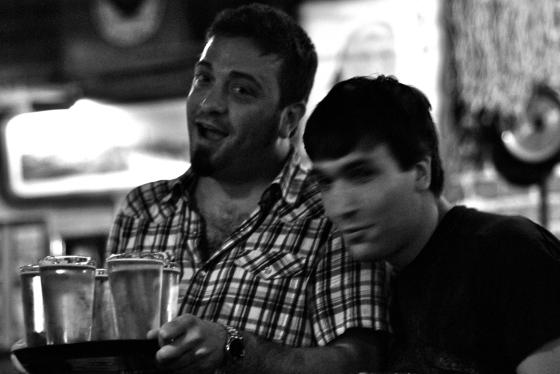 Nate and David