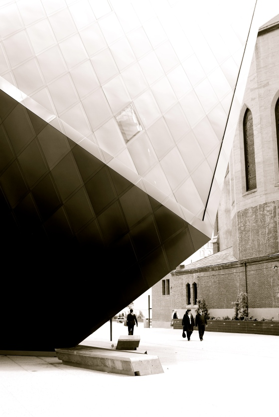 Walking by the Contemporary Jewish Museum