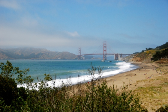 At Baker Beach