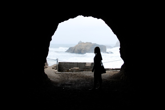 At the Sutro Baths