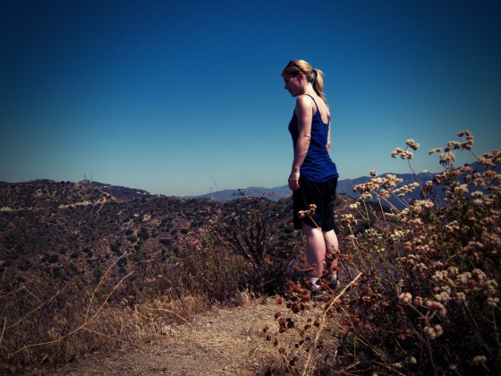 Atop Verdugo Mountain