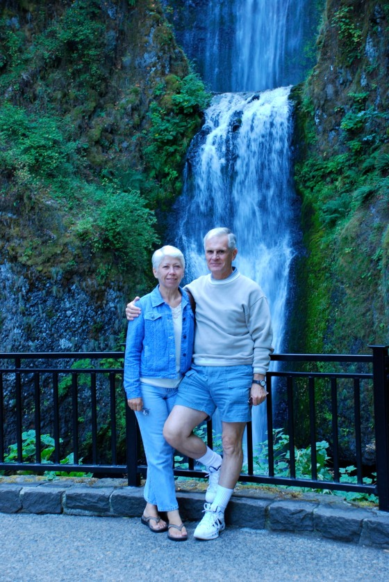 My parents (when they came to see me in Portland)