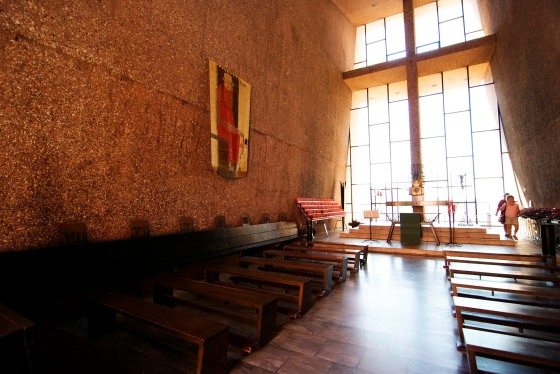 Chapel of the Holy Cross interior